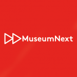 MuseumNext logo on red background