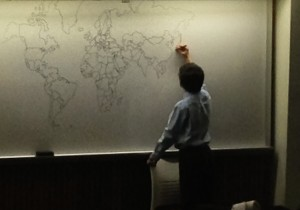 11-Year-Old Boy With Autism Draws World Map From Memory