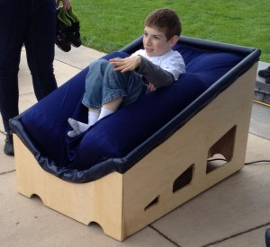 They Invented a Sensory Chair That Gives Kids With Autism a Big Hug – Wow!