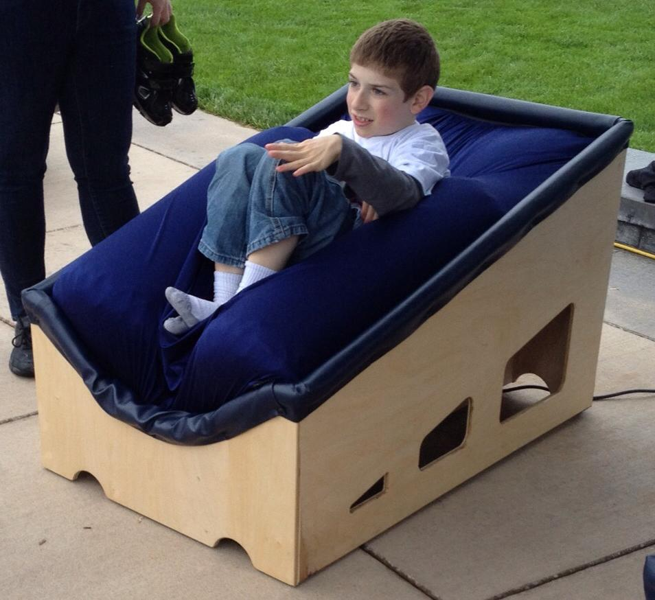 They Invented A Sensory Chair That Gives Kids With Autism