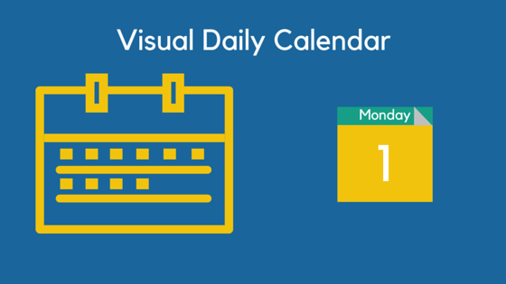 Visual Daily Calendar Student
