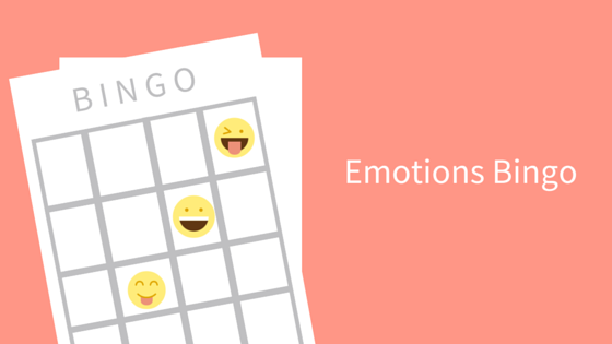 Emotions Bingo Game