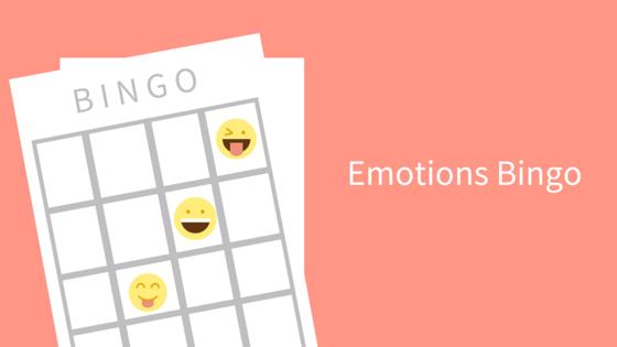 Emotions Bingo Game