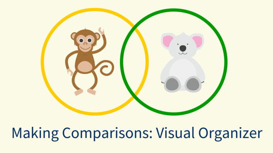 Making Comparisons visual organizers