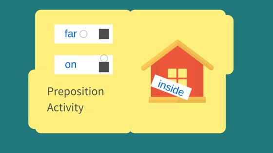 Preposition Activity