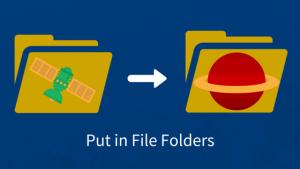 Put in File Folders