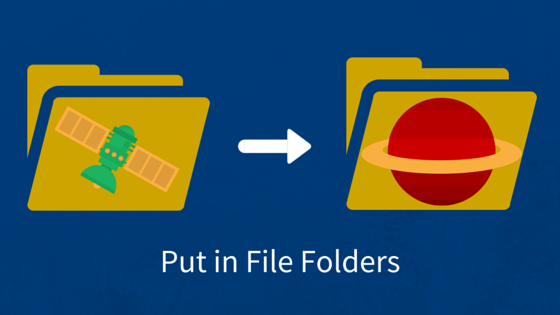 Put in File Folders
