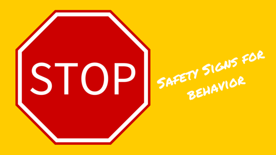STOP safety signs