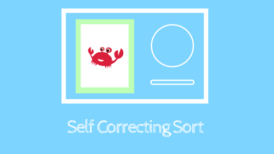Self Correcting Sorting