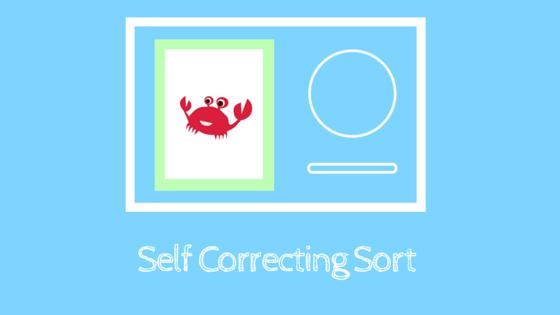 Self Correcting Sorting