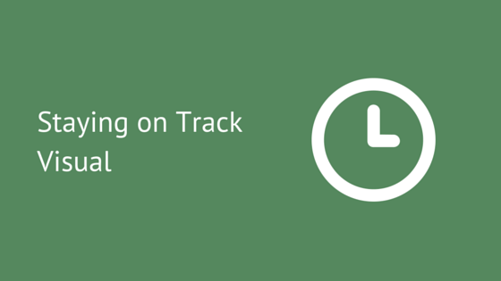 Staying on Track Visual Support