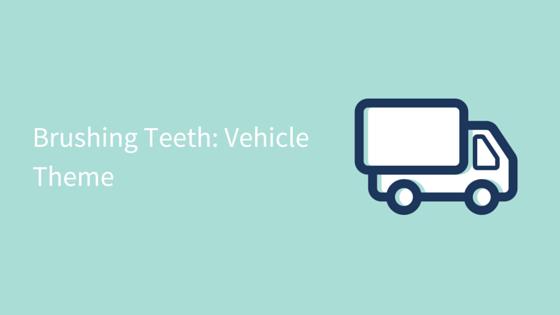 brushing teeth vehicle theme visual checklist