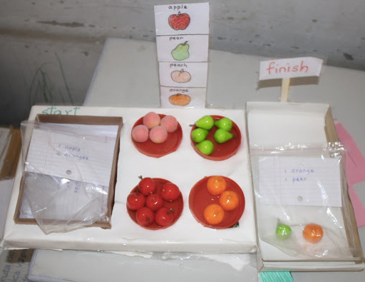 fruit package picture dictionary