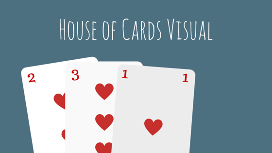 house of cards visual