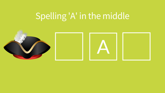 A middle spelling