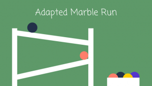 Adapted Marble Run