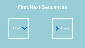 First-Next Sequences
