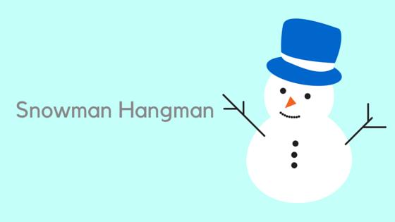 Snowman Hangman