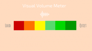 Visual Volume Meter Behavior Visual