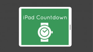 iPad Countdown Visual