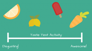 Taste Test Decision Making Activity