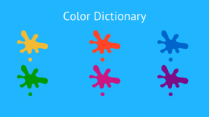 Color Dictionary