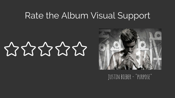 Rate the Album Visual Support Justin Bieber