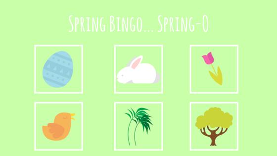 Spring Bingo Spring-O
