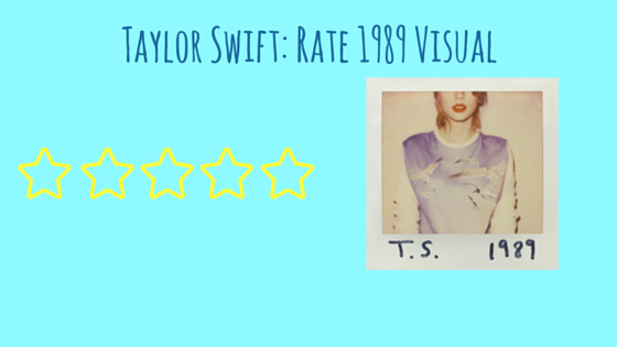 Taylor Swift- Rate 1989 Visual