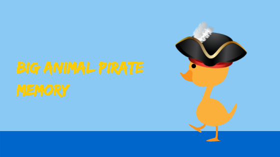 Big Animal Pirate memory