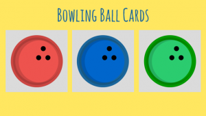 Bowling Ball Cards