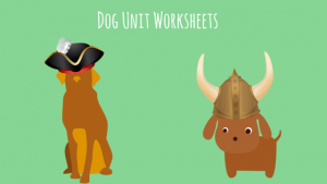 Dog Unit Autism Resource Worksheets