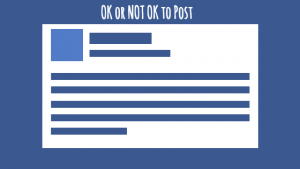 Facebook ok not ok post