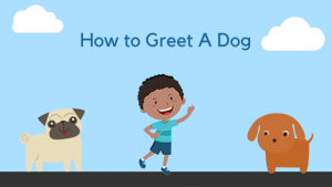 Greeting a Dog – and a Bonus Counting Worksheet!