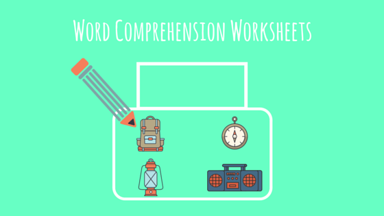 Word Comprehension Worksheets