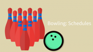 bowling schedules