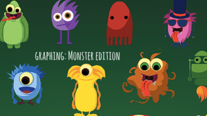 Graphing: Monsters Academic Activity