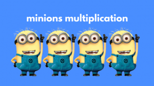 Minions Multiplication Resource Activity