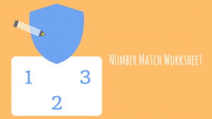 Fun Number Match Worksheets