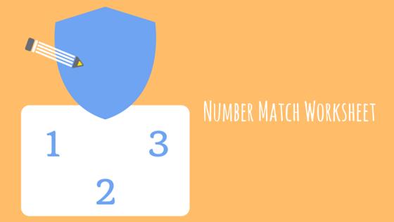 number match worksheet