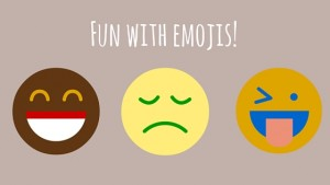 Autism and Emoji Teaching